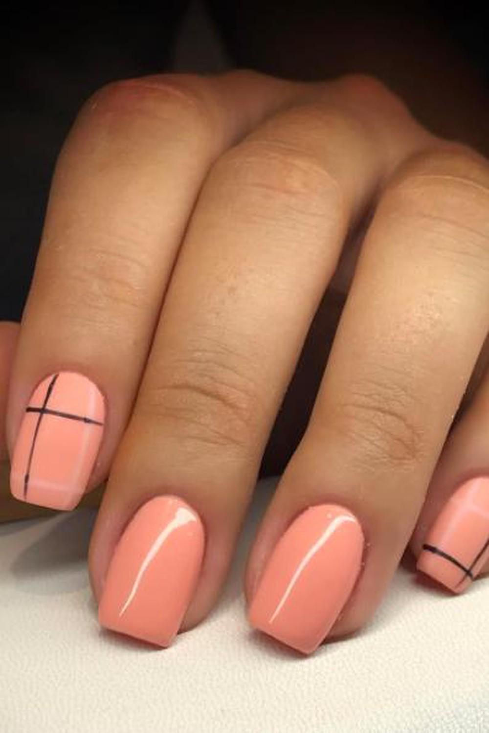 Mẫu nail đơn giản đẹp nhất