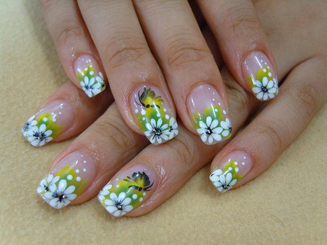Mẫu nail gel đẹp cho mùa xuân