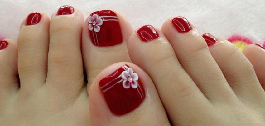 Mẫu nail móng chân đẹp