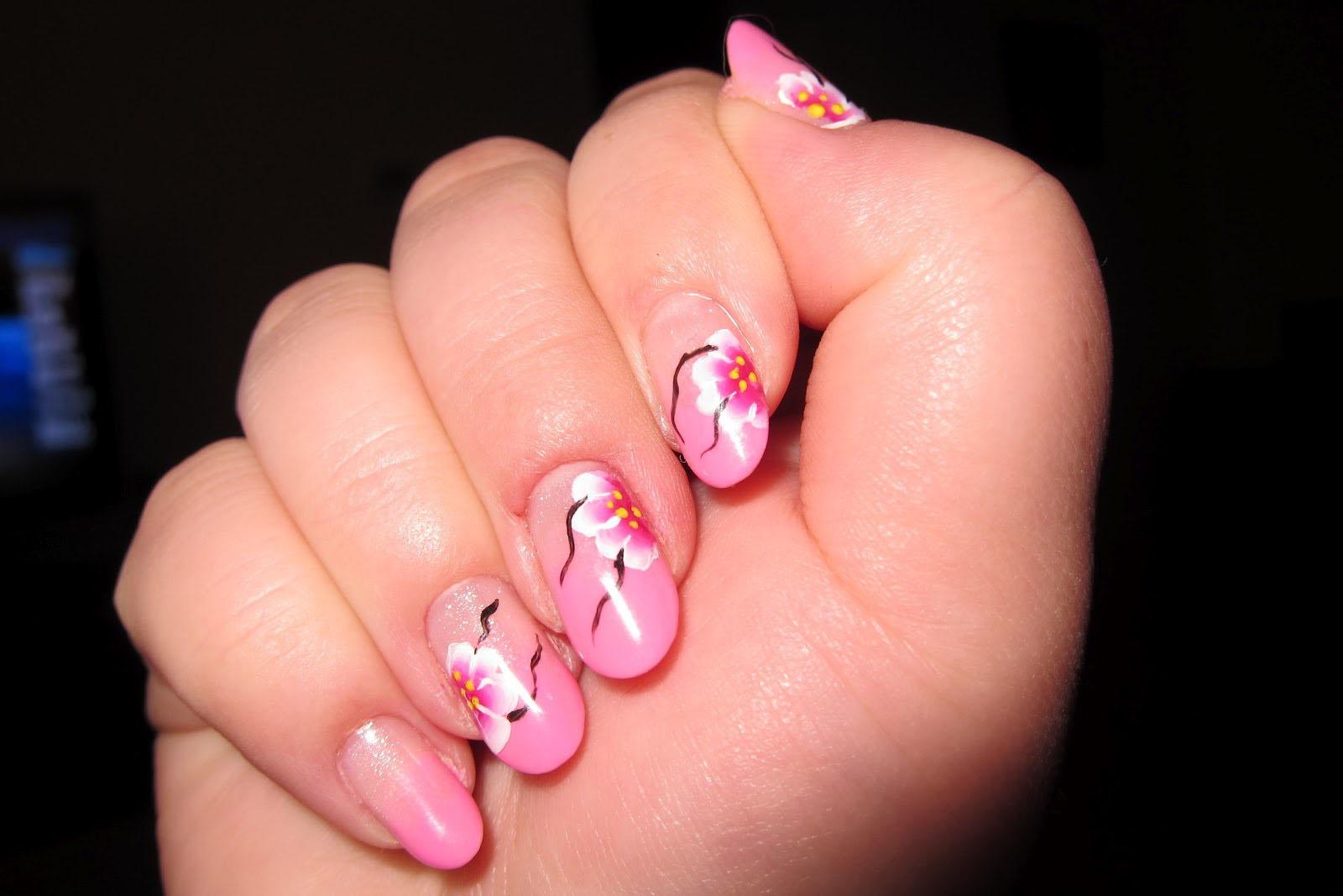 Mẫu nail móng tay màu đỏ hồng đẹp nhất