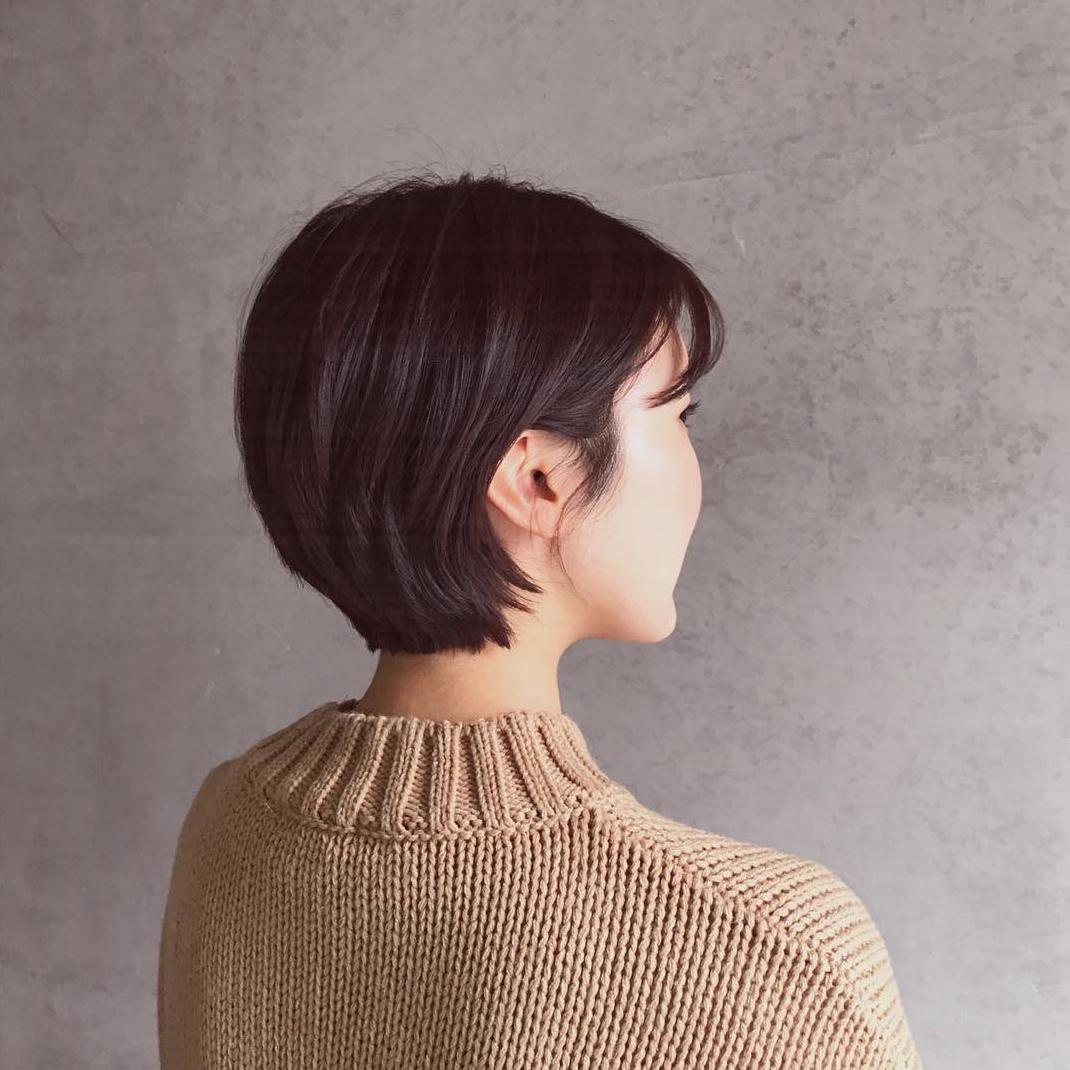 Mẫu tóc tém Hàn quốc đẹp