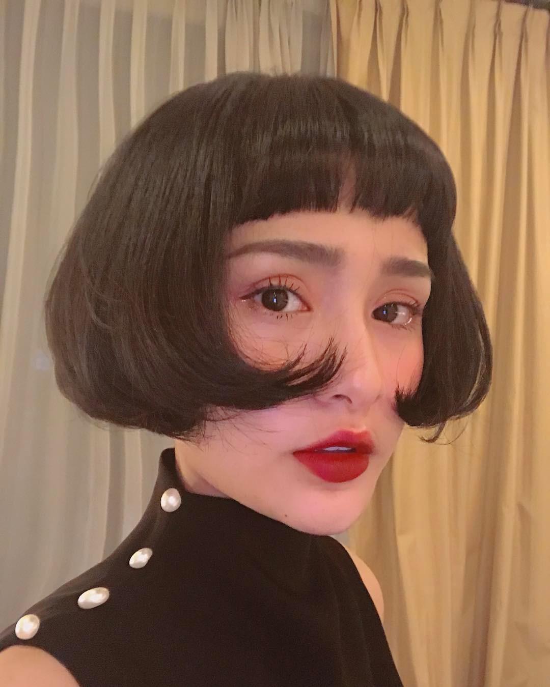 Mẫu tóc tém ngắn nữ đẹp