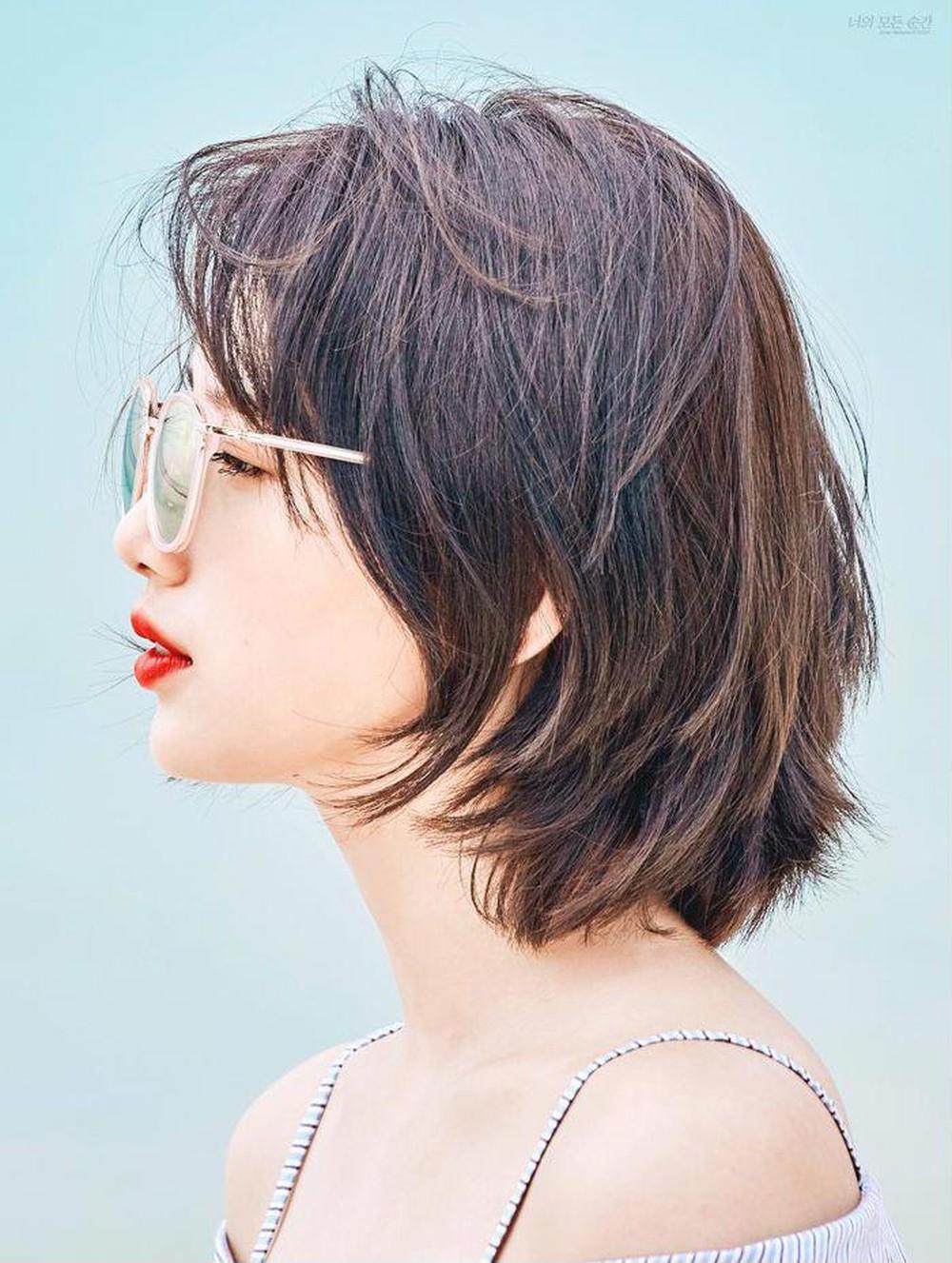 Mẫu tóc tém ngắn sành điệu và đẹp nhất cho nữ