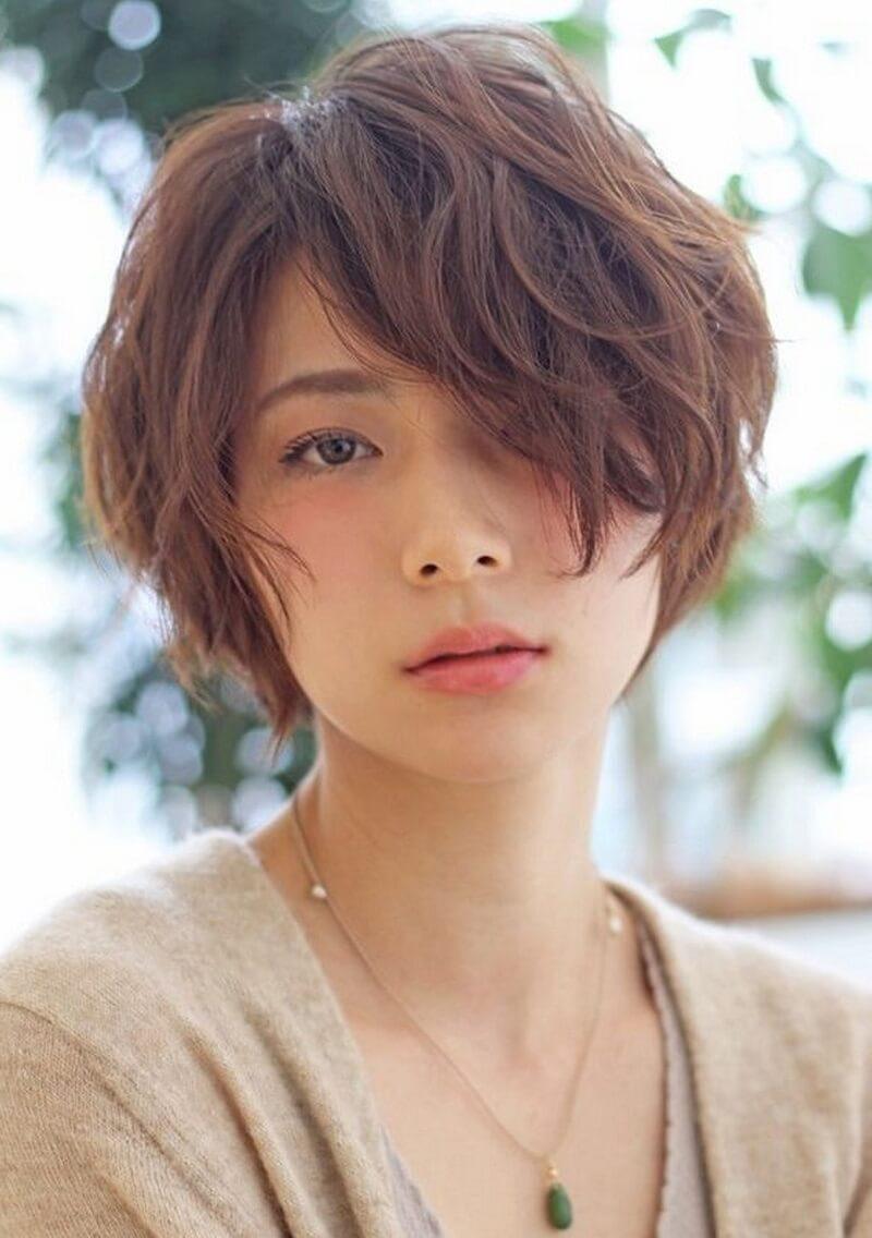 Mẫu tóc tém ngắn xoăn đẹp nhất cho nữ