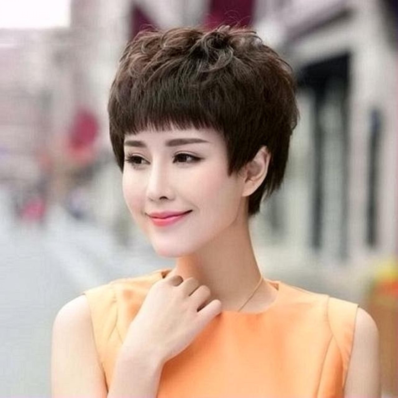 Mẫu tóc tém u40 u50 đẹp nhất