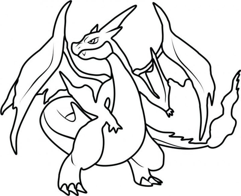 Mẫu tranh tô màu Pokemon đẹp được các bạn nhỏ yêu thích