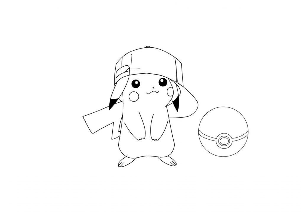 Mẫu tranh tô màu pokemon gekkouga
