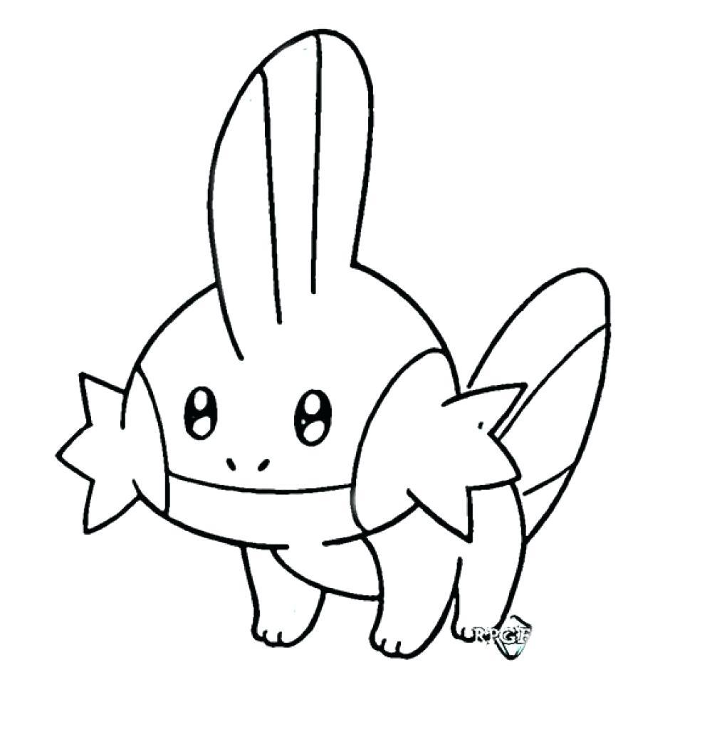 Mẫu tranh tô màu trắng đen Pokemon cho  bé