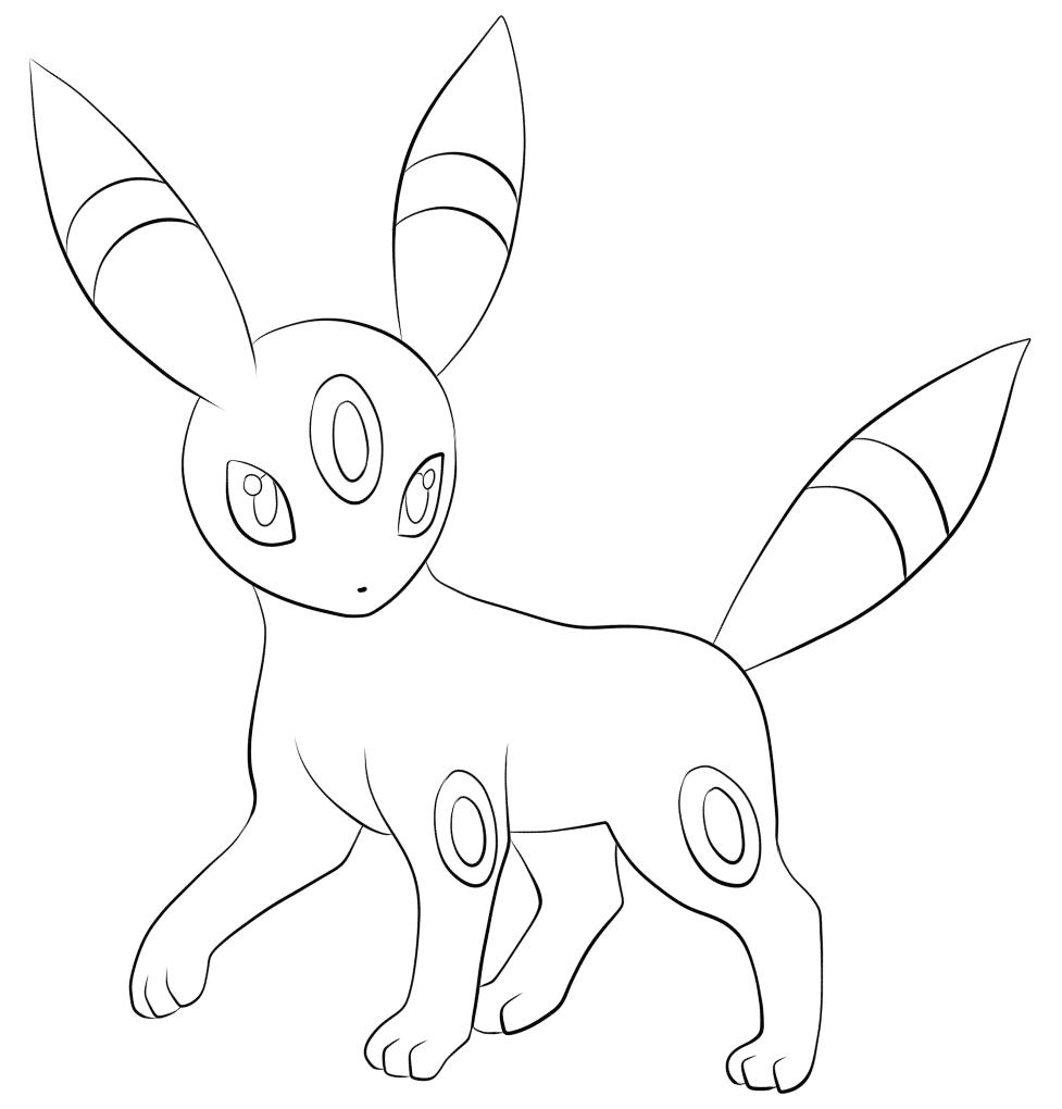 Pokemon hình ảnh tranh tô màu cho bé đáng yêu nhất