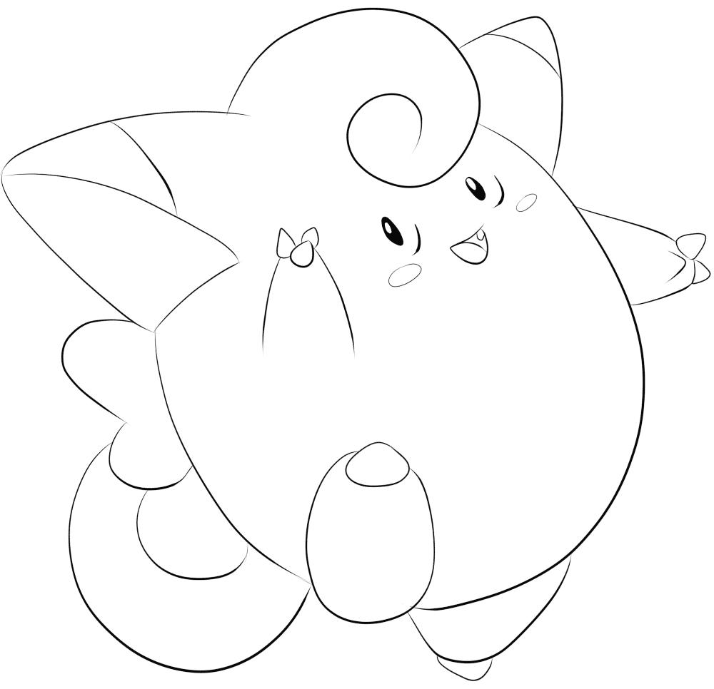 Tranh Pokemon đẹp cho bé tô màu