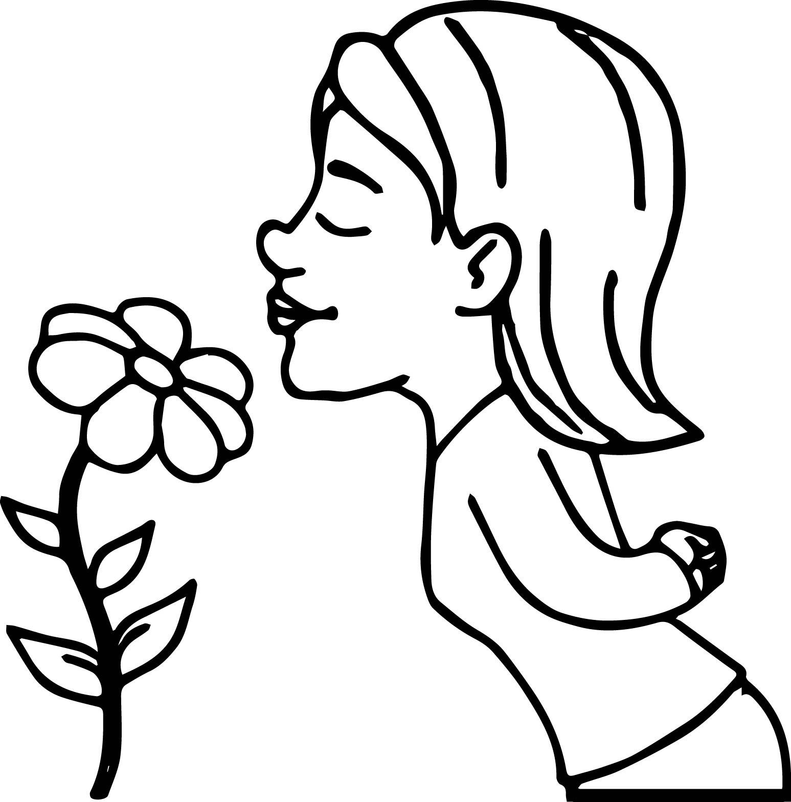 Tranh tô màu bé và hoa đẹp nhất