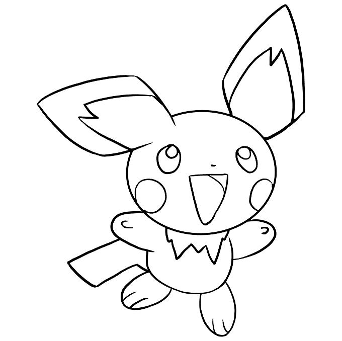 Tranh tô màu pokemon đẹp nhất cho bé