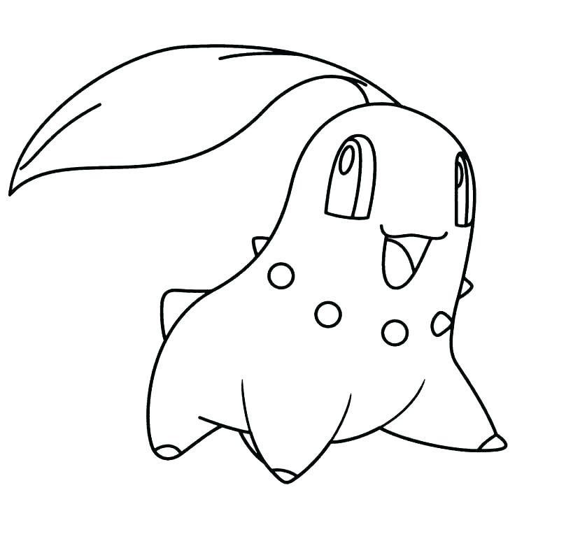 Tranh tô màu Pokemon đẹp và đơn giản cho bé