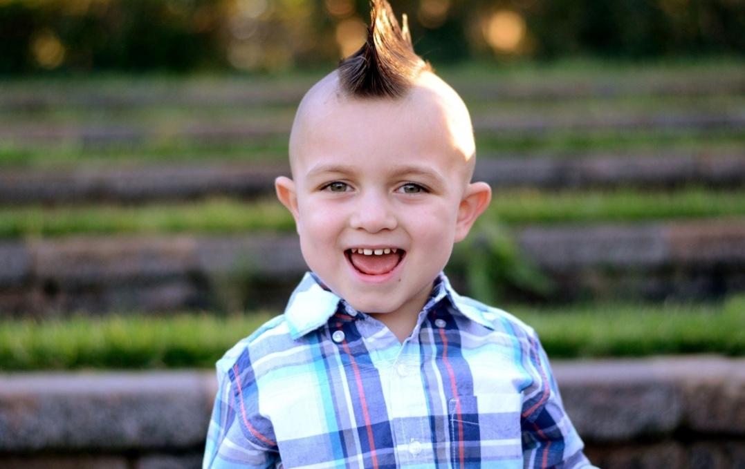Kiểu tóc bờm đuôi ngựa cho bé trai đẹp nhất
