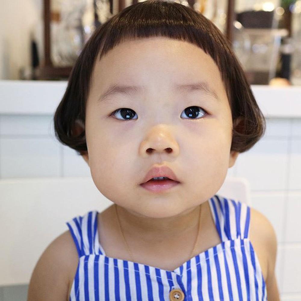 Kiểu tóc cho bé gái mặt tròn đẹp nhất