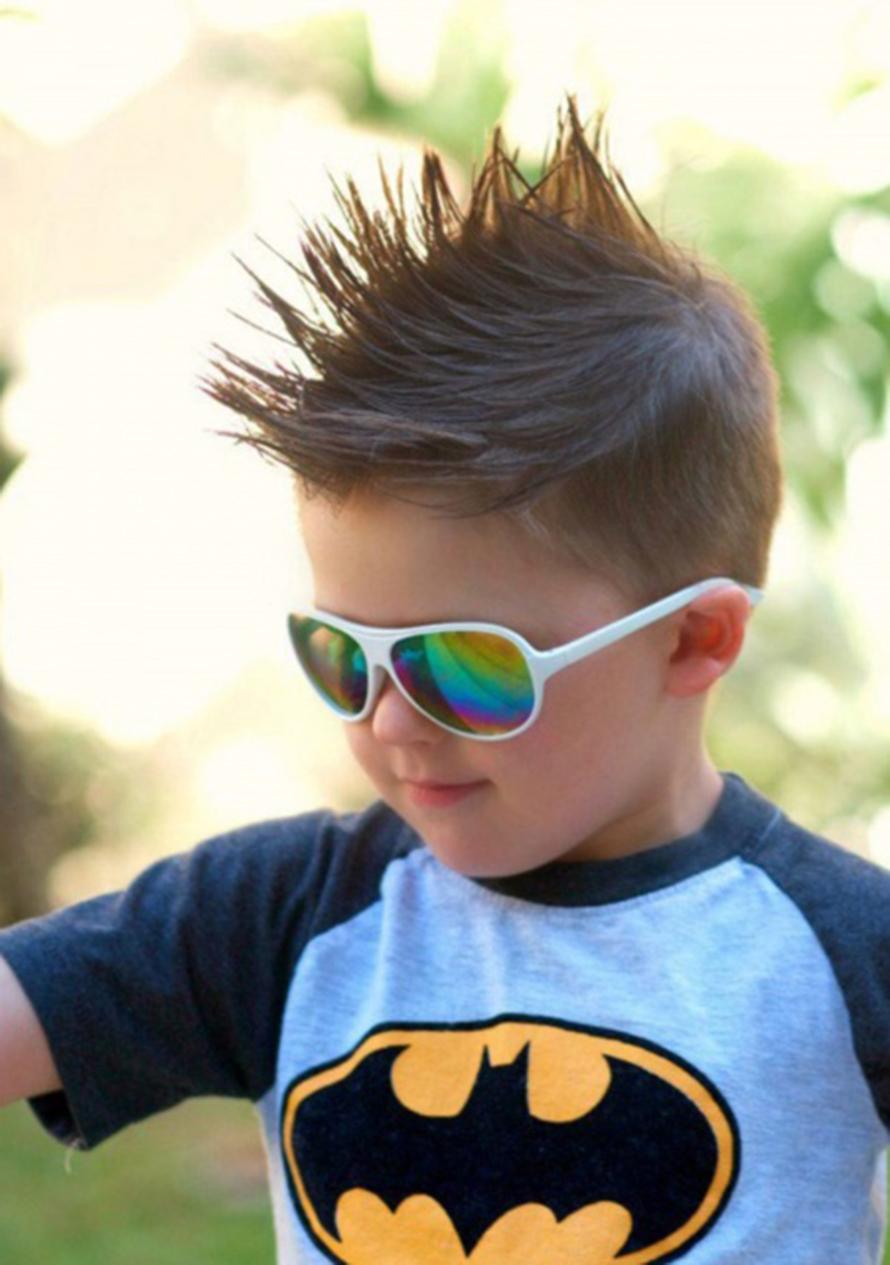 Kiểu tóc hot cho bé trai đẹp nhất