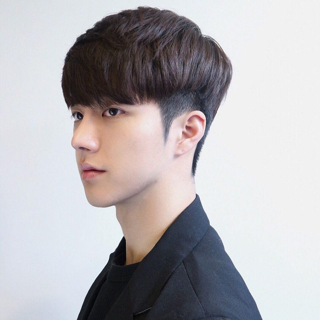 Kiểu tóc nam mái ngố ôm sát đẹp nhất