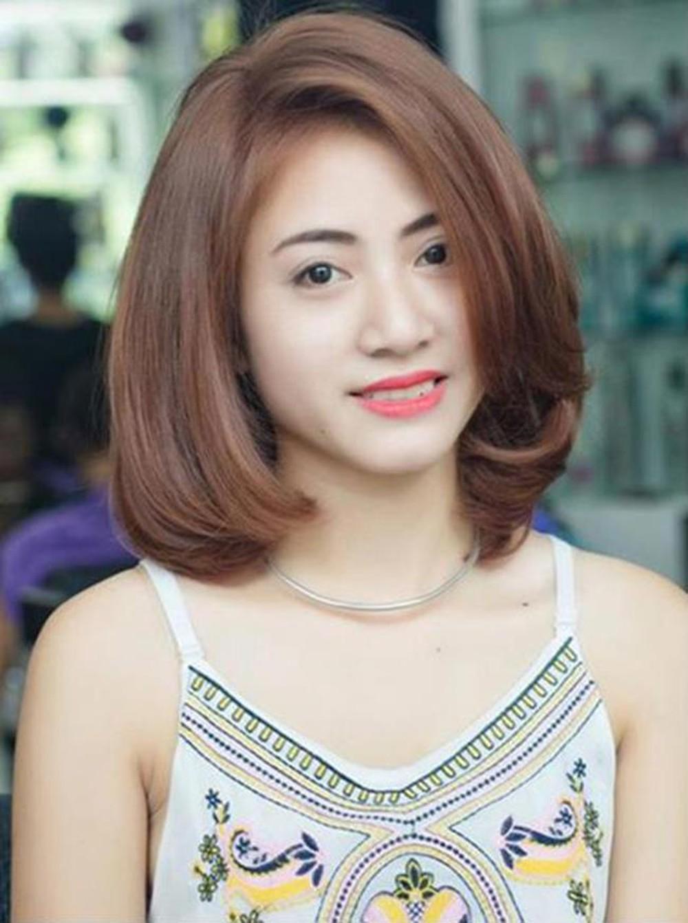 Kiểu tóc ngắn cúp tự nhiên đẹp nhất
