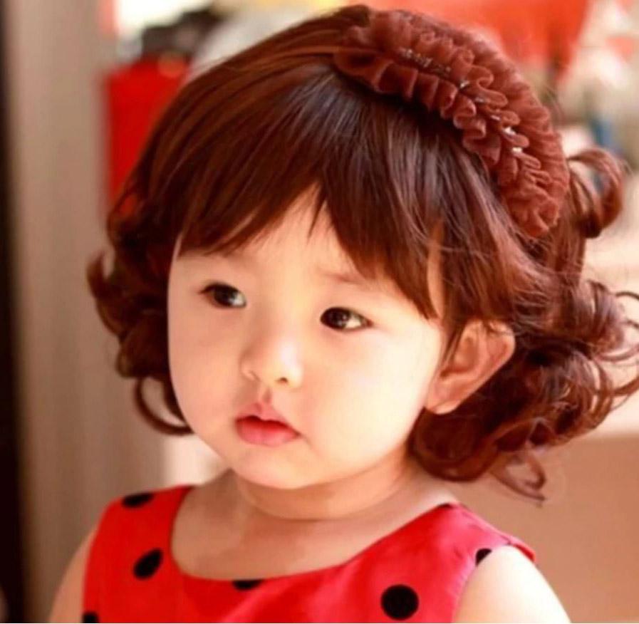 Kiểu tóc uốn cho bé gái đẹp