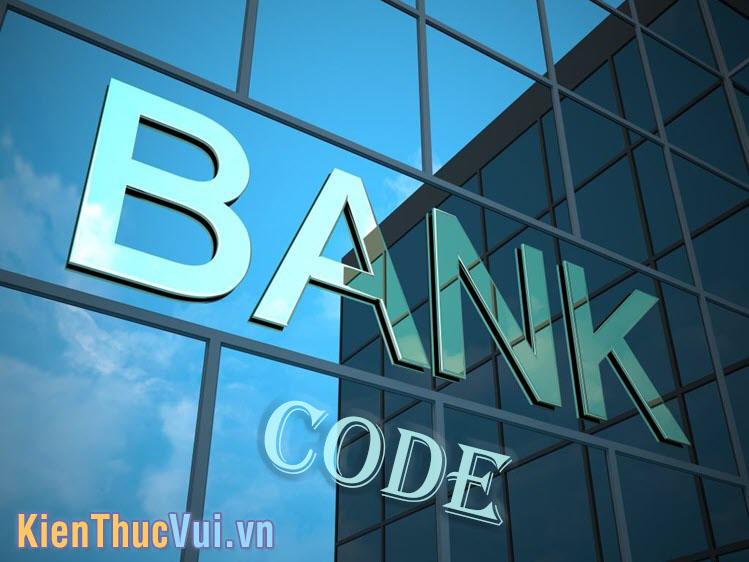 Bank Code được ngân hàng nhà nước hoặc cơ quan giám sát ngân hàng trung ương cấp