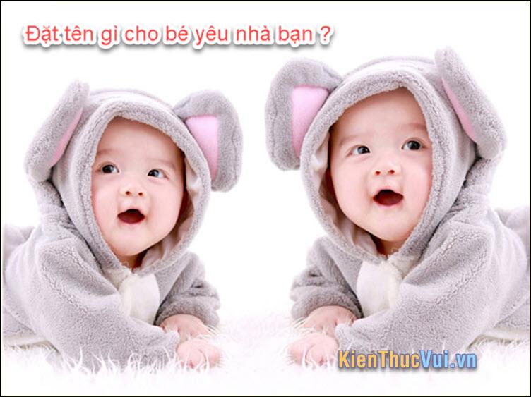 Tên Trung Quốc hay cho nam và nữ