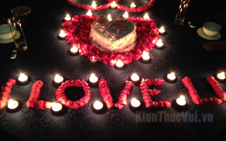 Những cách tổ chức sinh nhật cho người yêu lãng mạn nhất