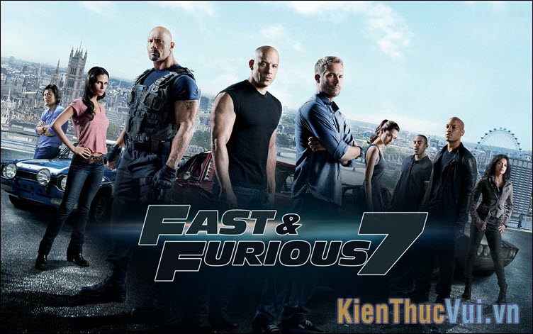 Fast and Furious 7, 8 – Quá nhanh quá nguy hiểm (2015, 2017)