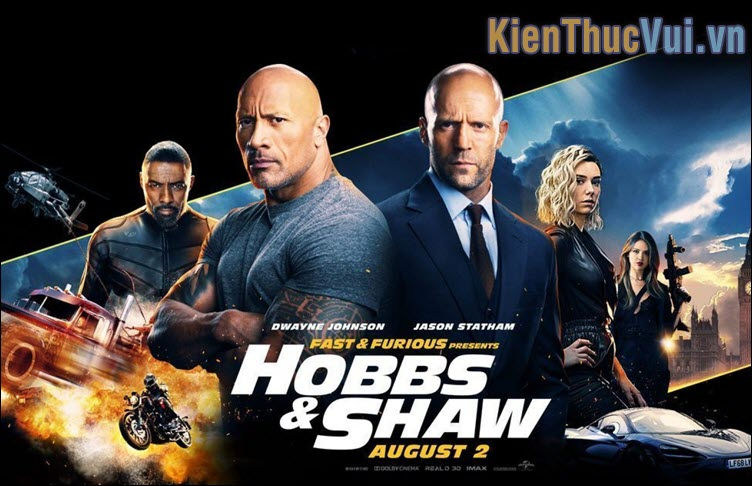Fast and Furious Hobbs and Shaw (2019)