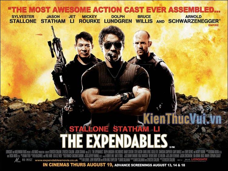 The Expendables – Biệt đội đánh thuê (2010, 2012, 2014)