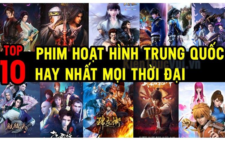 Top 10 bộ phim hoạt hình Trung Quốc hay nhất
