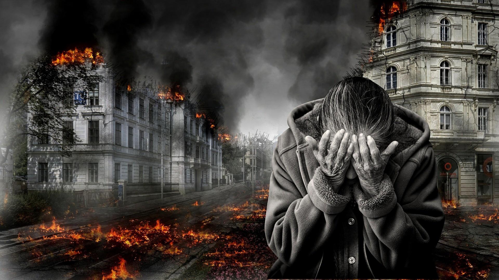 Bức ảnh đau khổ chạm đến trái tim người xem