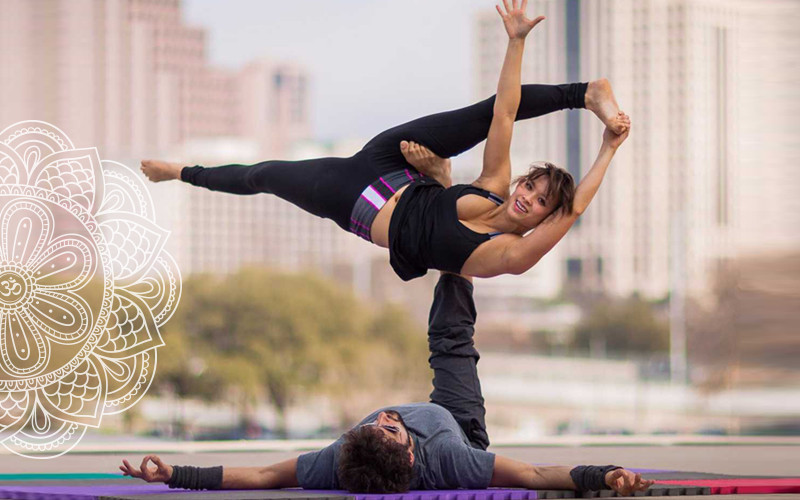 Động tác Yoga đôi nâng cao