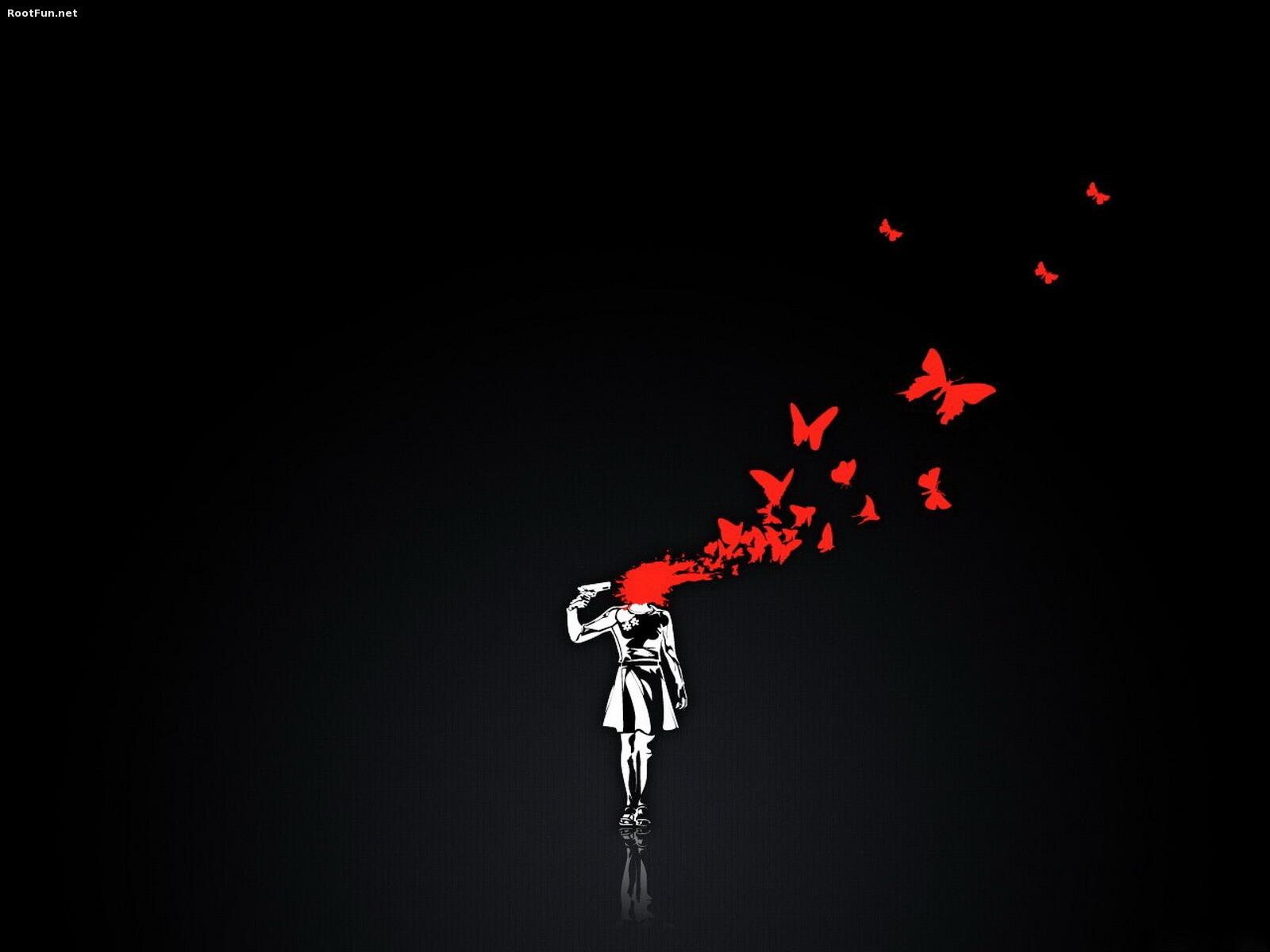 Hình ảnh đau khổ vì tình yêu tan vỡ