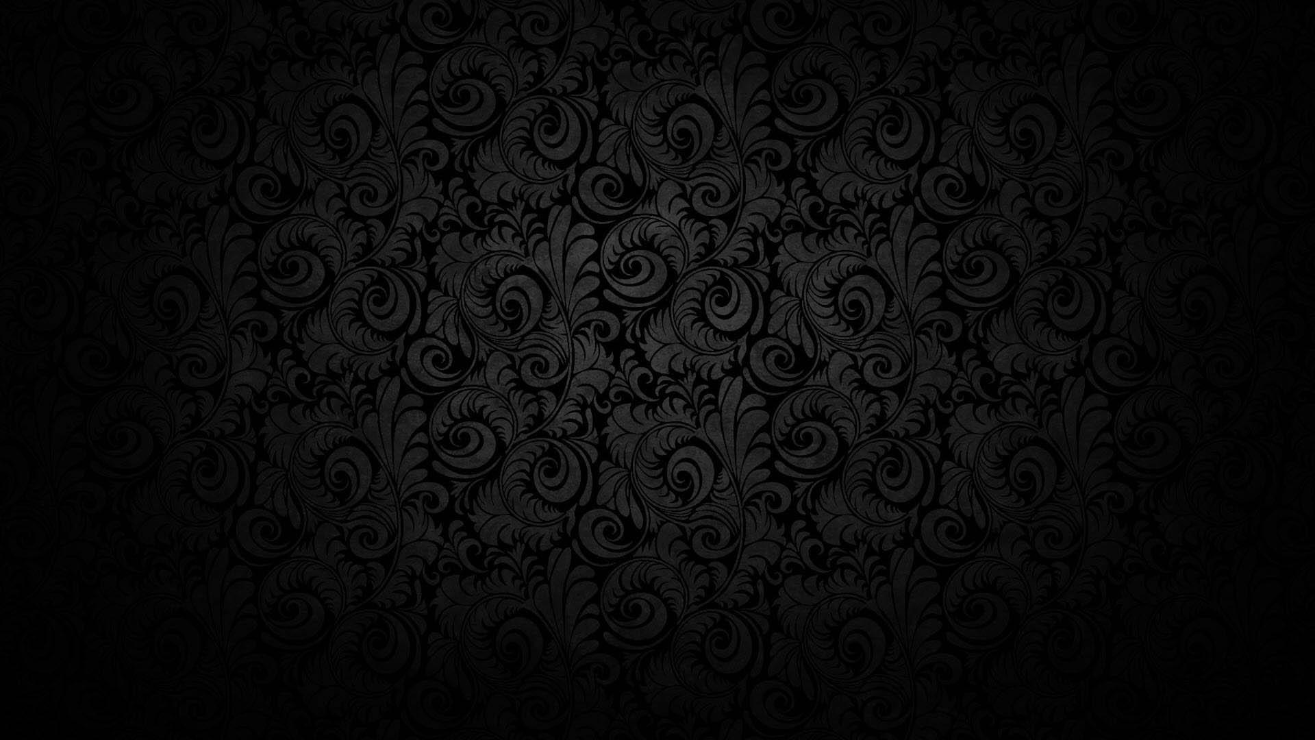 Hình nền đen họa tiết đẹp nhất Full HD
