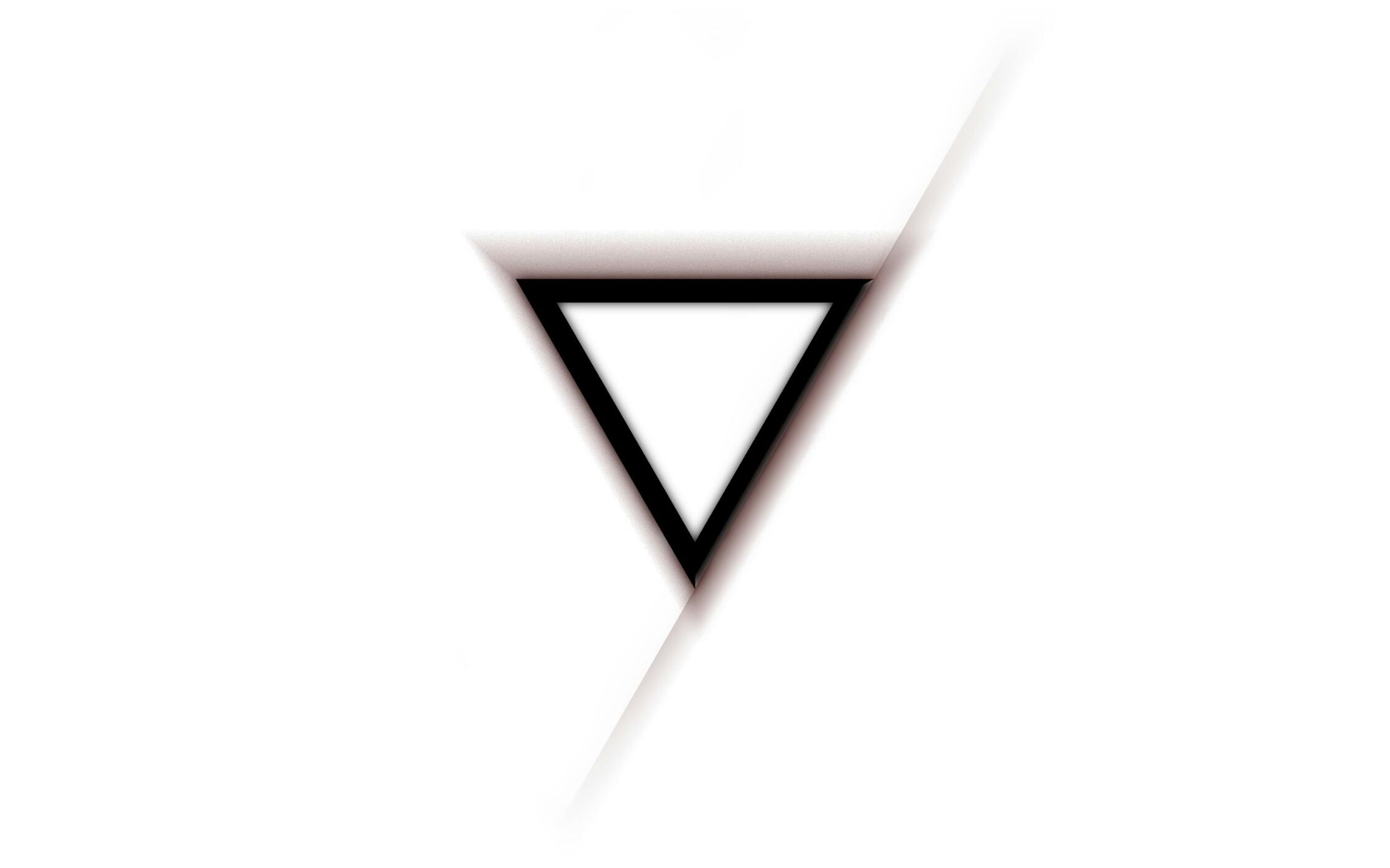 Hình nền trắng tam giác