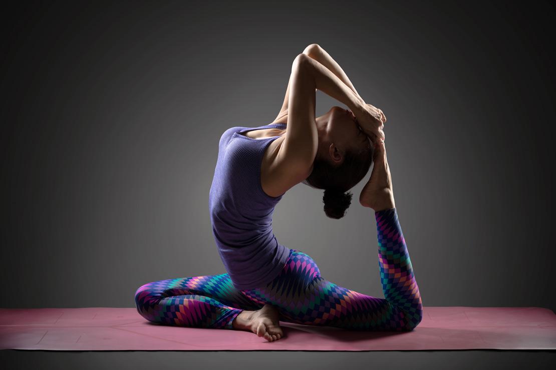 Tư thế yoga chim bồ câu đẹp mắt