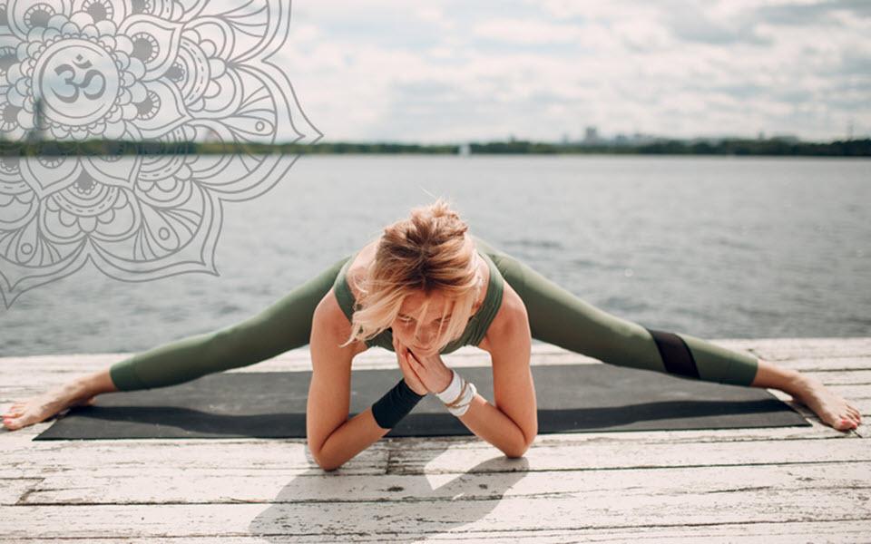 Tư thế Yoga đẹp, đơn giản