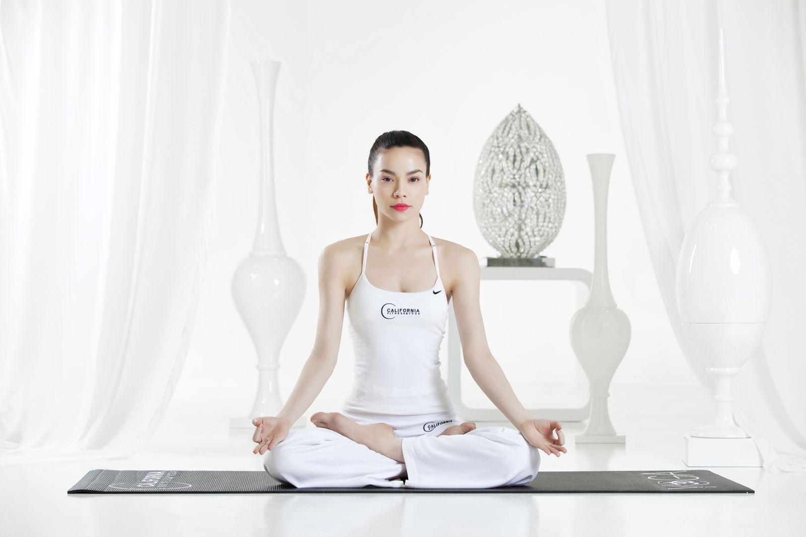 Tư thế Yoga ngồi thiền đẹp