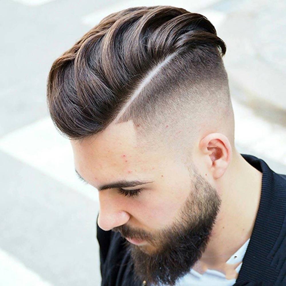 Kiểu tóc Angular Fringe (Kiểu góc cạnh) cho nam mặt tròn mập