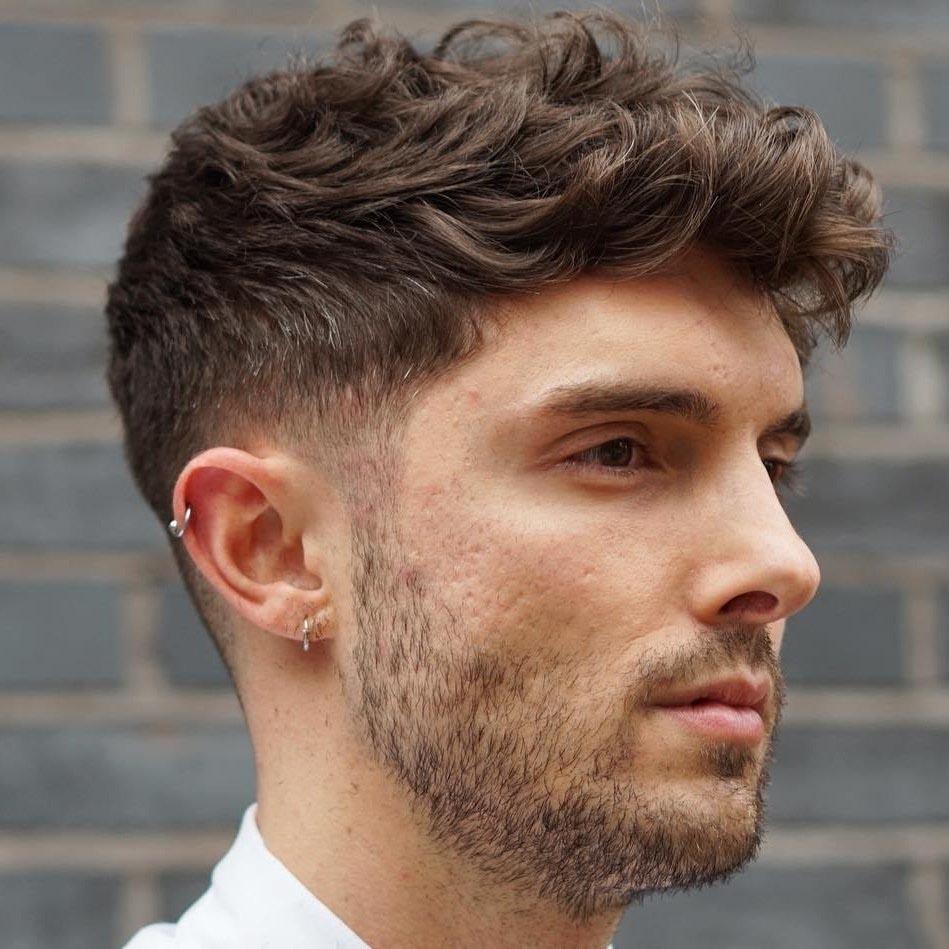 Kiểu tóc bất cân xứng cho nam mặt tròn mập đẹp nhất