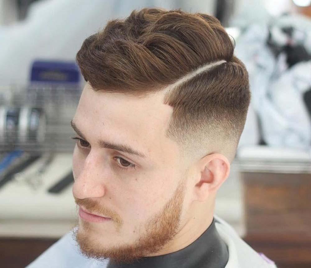 Kiểu tóc High Volume (Kiểu phồng) cho nam mặt tròn mập đẹp nhất