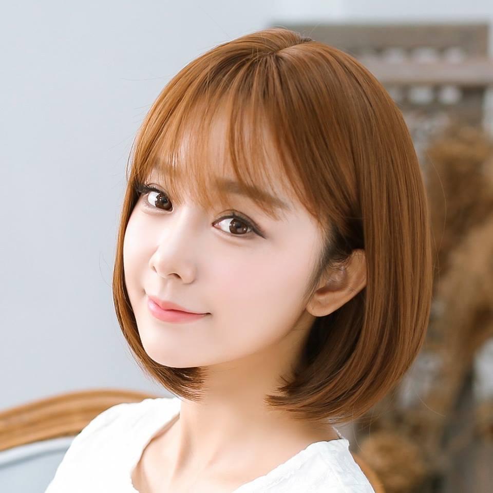 Kiểu tóc ngắn duỗi cúp Hàn Quốc đẹp nhất