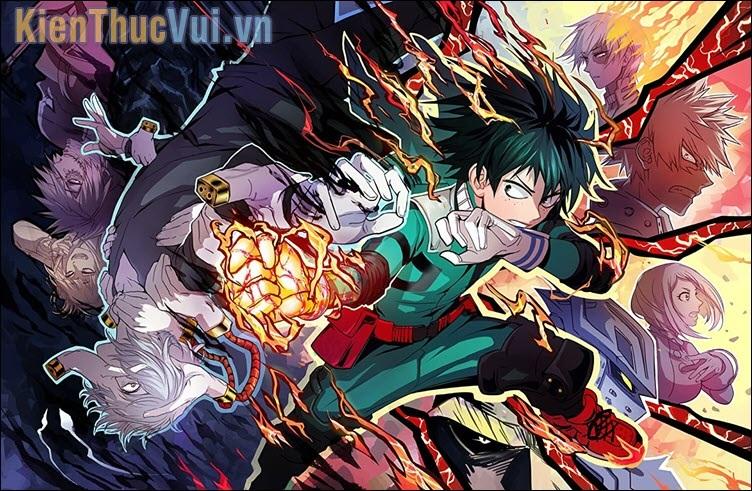 Boku no Hero Academia - Học viện anh hùng