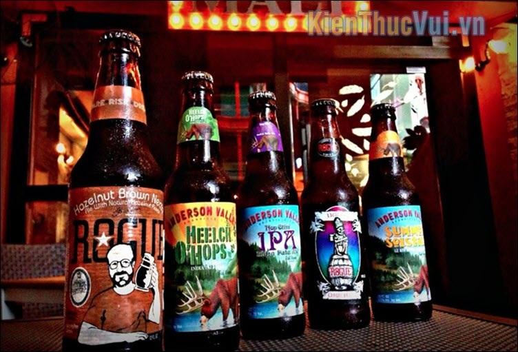 Craft Beer còn được gọi là bia thủ công Khác với bia công nghiệp trên thị trường