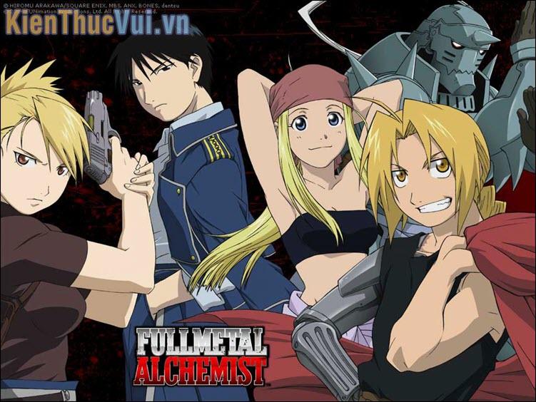 Fullmetal Alchemist Brotherhood – Giả kim thuật sư