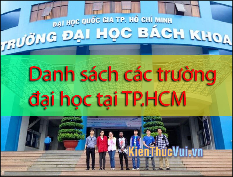 Danh sách trường đại học tại TP.HCM