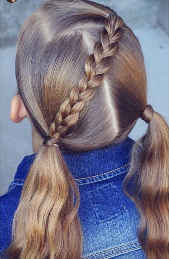 Kiểu buộc tóc đẹp cho bé gái
