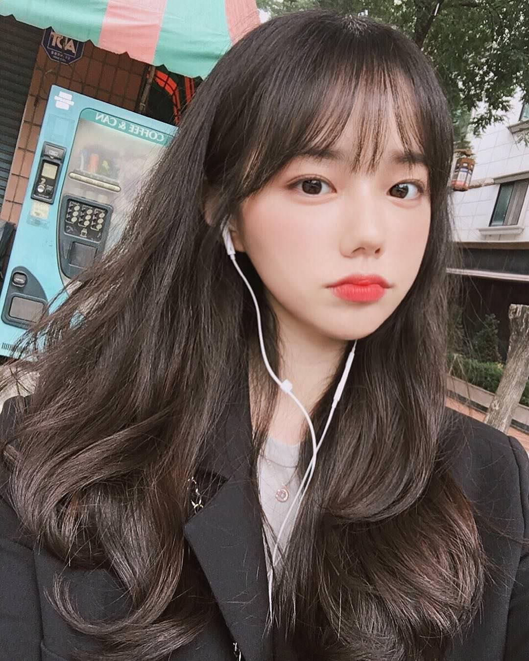 Kiểu tóc dài ngang lưng phong cách Hàn Quốc