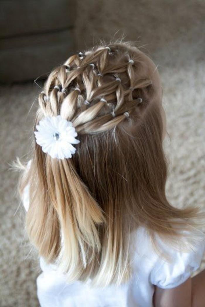 Kiểu tóc độc đáo sáng tạo cho bé gái