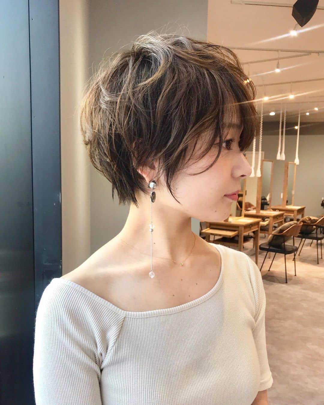 Kiểu tóc ngắn cá tính đẹp nhất